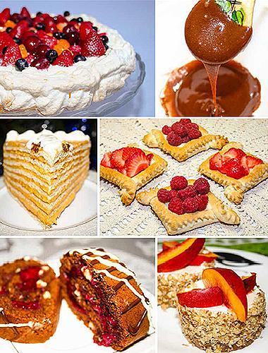 Самые сложные торты рецепты