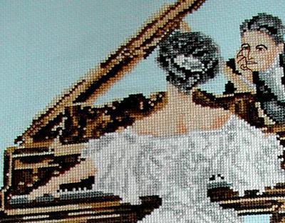 дама за роялем