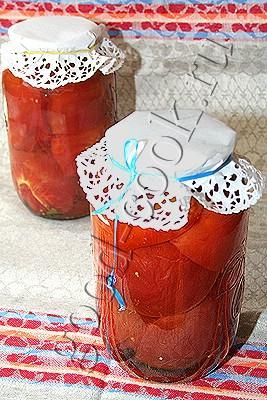 маринованные помидоры (в микроволновке)