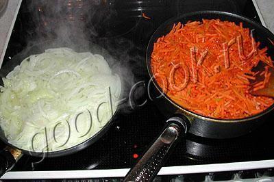 перцы, фаршированные морковью и луком