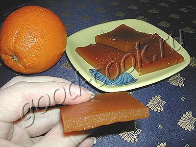 яблочно-апельсиновый мармелад