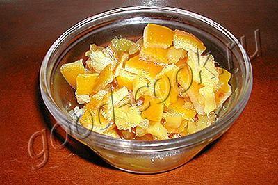 варенье из имбиря с апельсиновыми корочками
