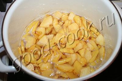варенье из айвы с орехами и лимоном