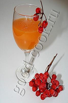 рябиновый сок