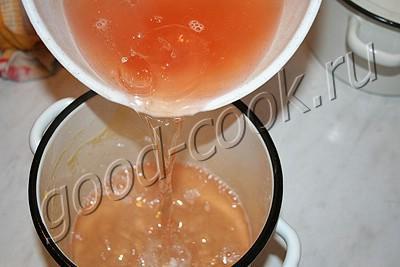 варенье из персиков №1