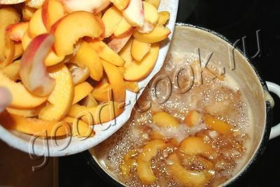 варенье из персиков №2