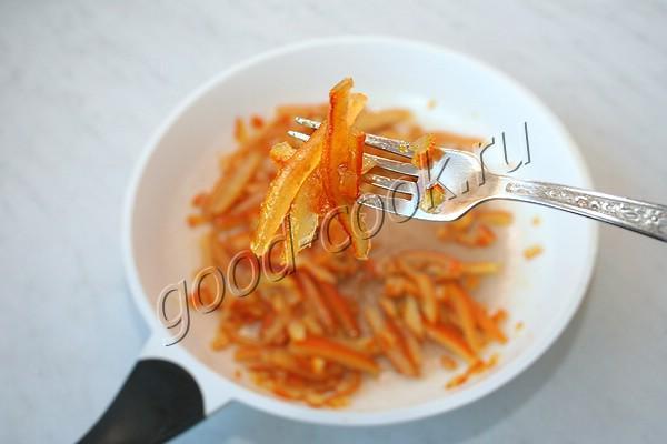 цукаты из апельсиновых и лимонных корочек