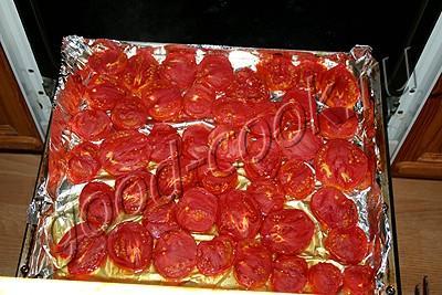 соус из печеных помидоров, лука и перца