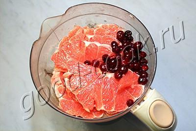 джем клюквенно-грейпфрутовый