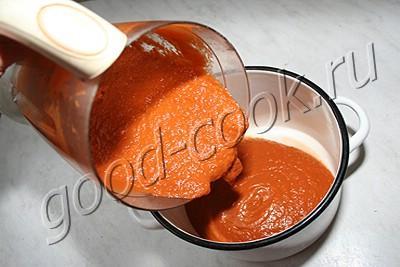 консервированный баклажаново-томатный соус