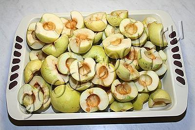 пастила из запеченных яблок