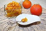 яблочное варенье с мандариновыми корочками