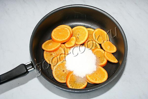 апельсиновые дольки (цукаты)