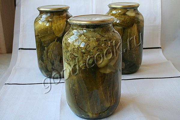 огурцы консервированные в собственном соку
