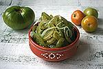 салат из зелёных помидоров