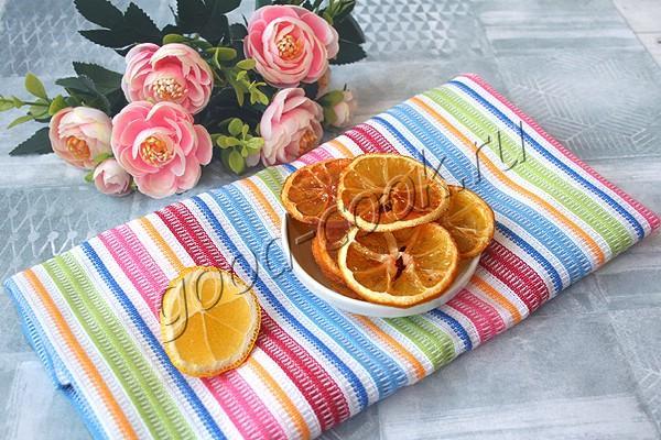 лимонные дольки в леденцовой карамели