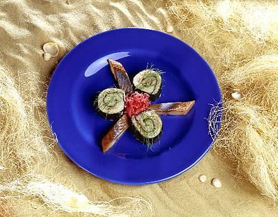суши из норвежской сельди