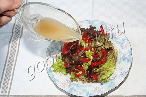 салатов для зеленых Соусы заправки