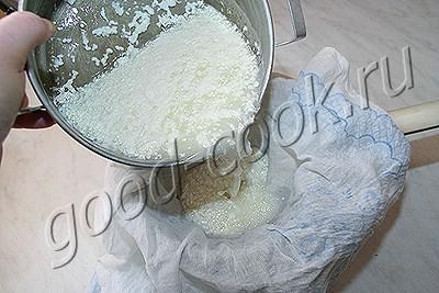 сыр домашний плавленый