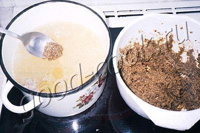 суп с грибными клецками