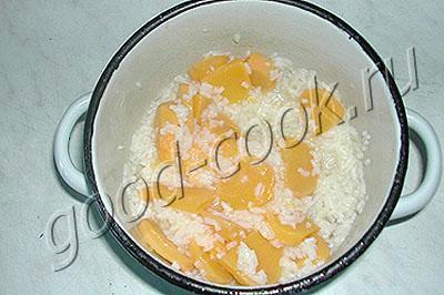 суп-пюре из репы и риса
