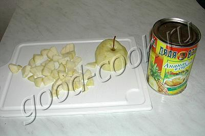десерт Яблочный сюрприз