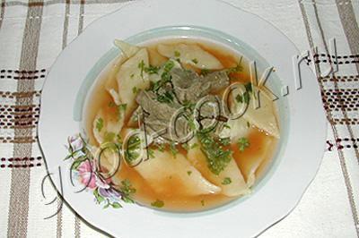 суп хинкал по-кумыкски