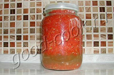 Как правильно сделать огонек из помидоров
