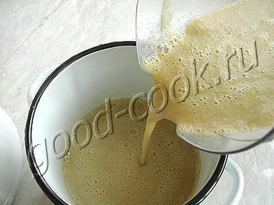 суп-пюре баклажановый