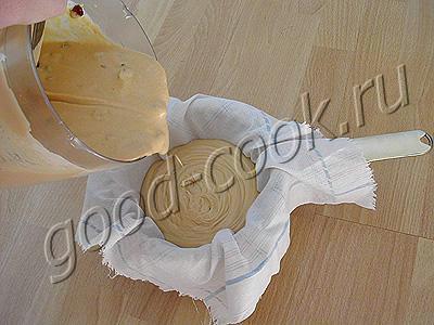 пасха творожно-сметанная с вареным сгущенным молоком