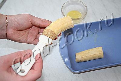 запеченные бананы под карамельной корочкой