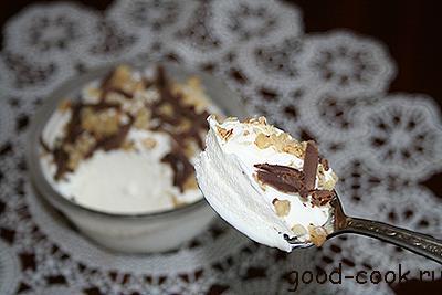 домашнее мороженое на сгущенном молоке