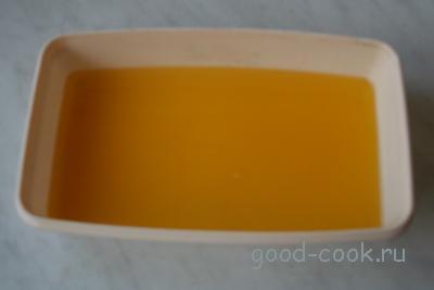 цитрусовый лед (сорбет)