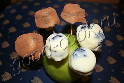 """десерт """"Чернослив в белой глазури"""""""