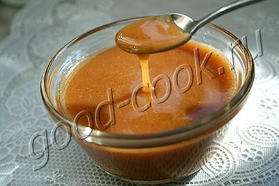 карамельно-сливочный соус рецепт