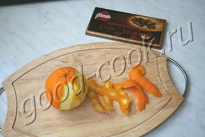 апельсиново-шоколадный соус
