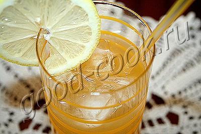 лимонно-ананасовый напиток с имбирем