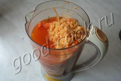 Чечевичный суп-пюре – кулинарный рецепт