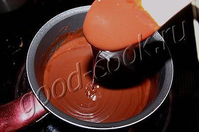 домашнее шоколадное мороженое
