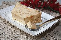 домашнее карамельное мороженое с орехами