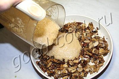 грибной соус по-французски