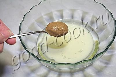 соус на молоке по типу майонеза