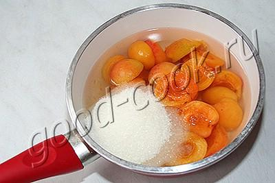 десертный холодный абрикосовый суп