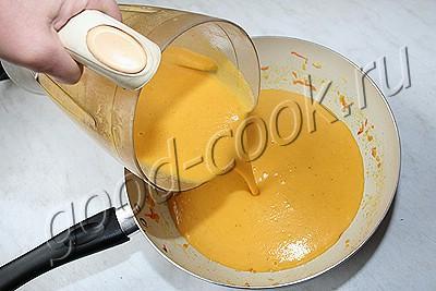 чечевичный суп-пюре с беконом