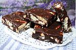шоколадный ирис с орехами и печеньем (Фадж)