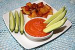 соус из баклажанов с томатным соком