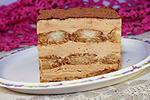 десерт Тирамису с варёным сгущённым молоком