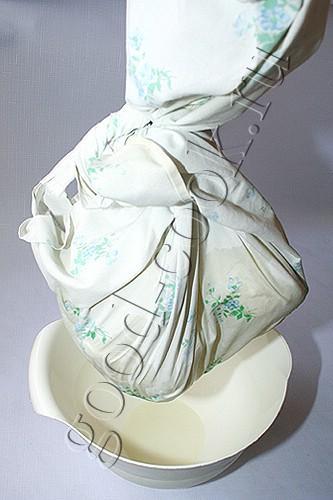 домашний творог из замороженного кефира
