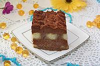 """десерт """"Тирамису"""" с шоколадным кремом"""