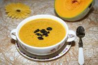 Молочный тыквенный суп